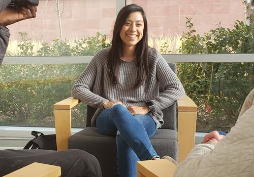 Crystal Santos Interview