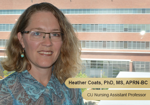 Assistant Professor Heather Coats, PhD, MS, APRN-BC