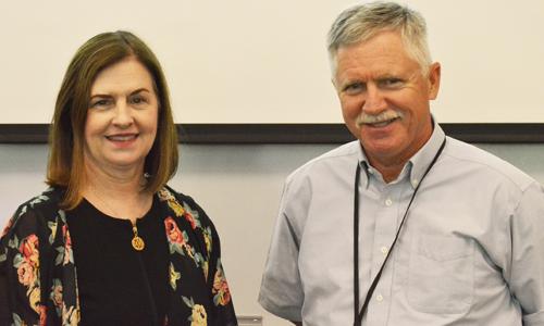 Peggy Jenkins and John Welton