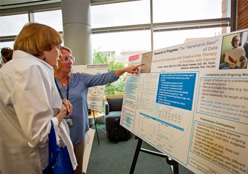 PhD candidate Jennifer Raybin & Professor Marilyn Krajicek